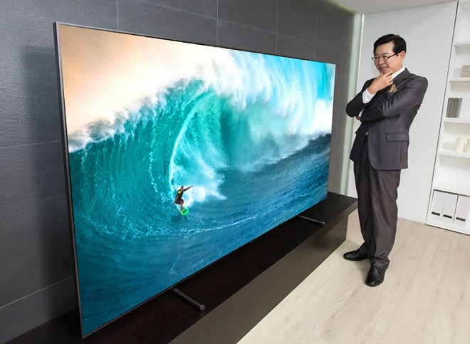 Largest Ever Samsung Qled 4k Tv Heads For Ifa 2017 Inside Ci