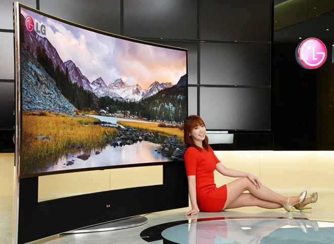 lg preps 105 inch 4k ultra hd curved lcd tv for ces inside ci