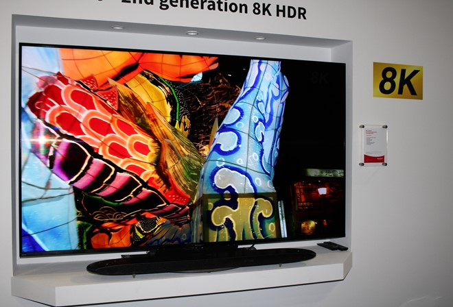 Sharp goes massive with 4K and 8K TVs at IFA 2018 - Inside CI