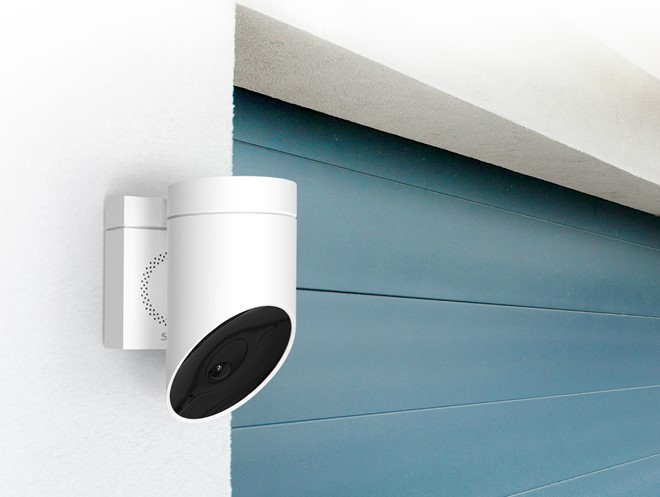 Somfy Outdoor Security Camera Uses Ai Detection Inside Ci