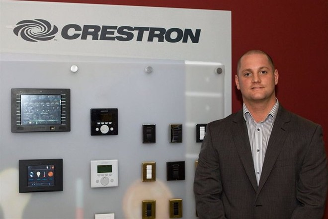 crestron appoints international lighting and integrated building