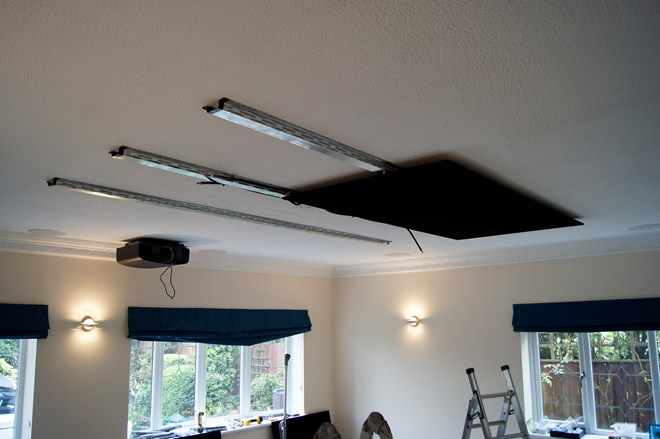Building An Led Starfield Ceiling Home Theatre Inside Ci