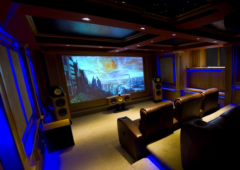 Sensational Home Theatre Cellar Inside Ci