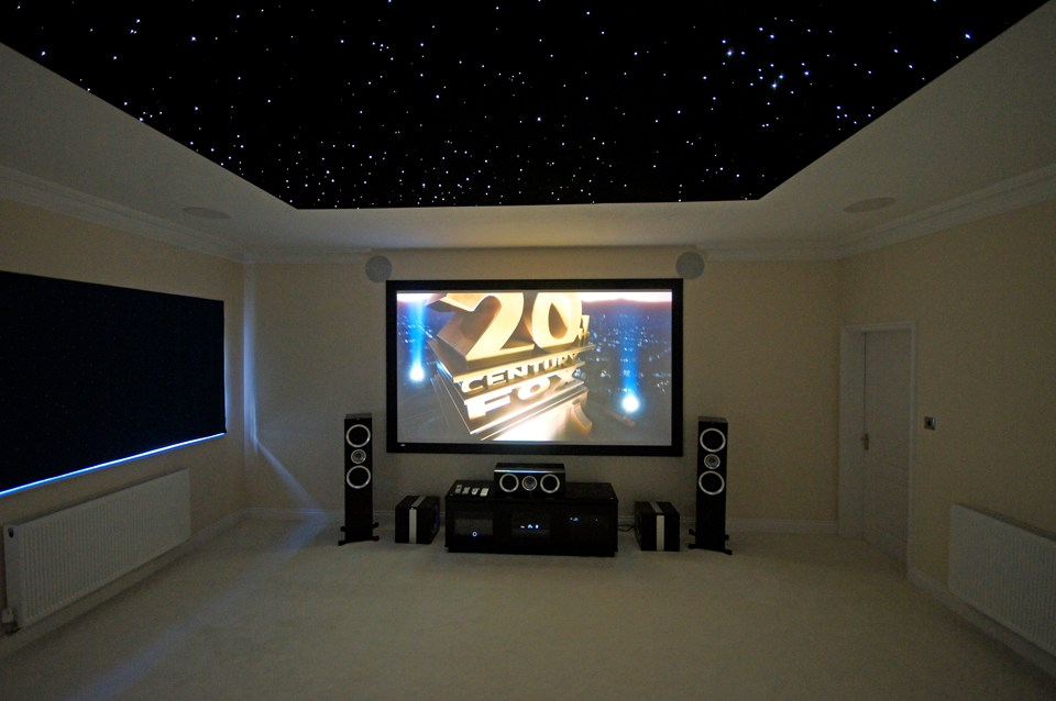Led Ceiling Lights Home Theatre : Building an led starfield ceiling home theatre inside ci