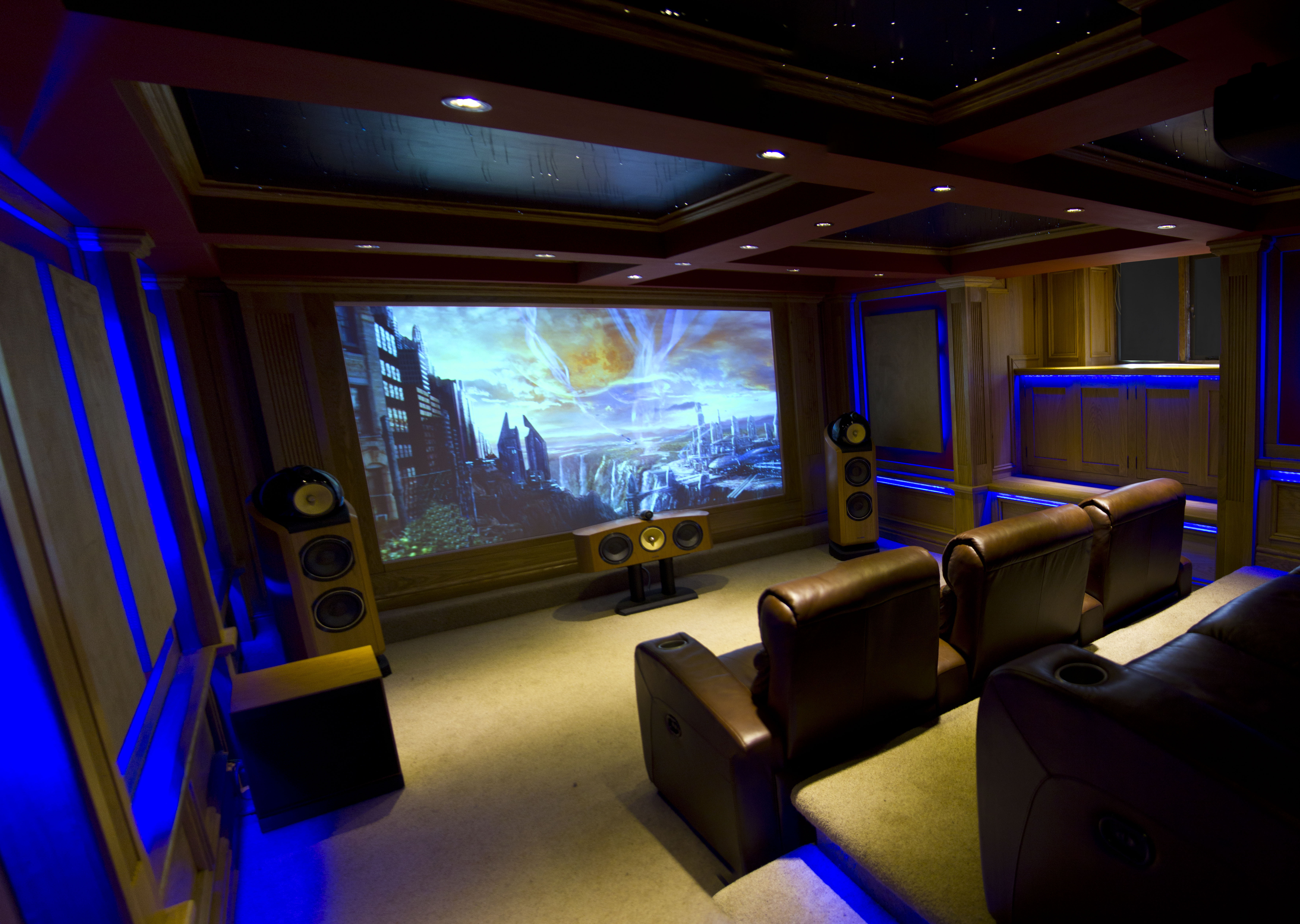 sensational home theatre cellar inside ci. Black Bedroom Furniture Sets. Home Design Ideas