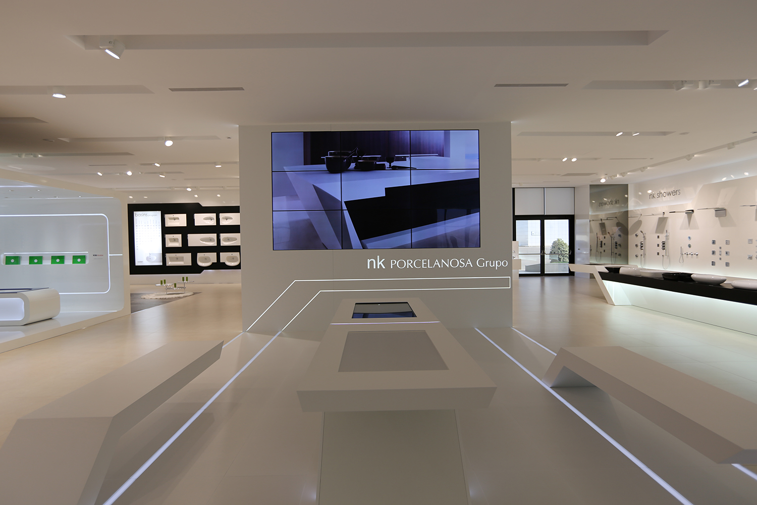 Reviewed Porcelanosa Ceramics Showroom Inside Ci