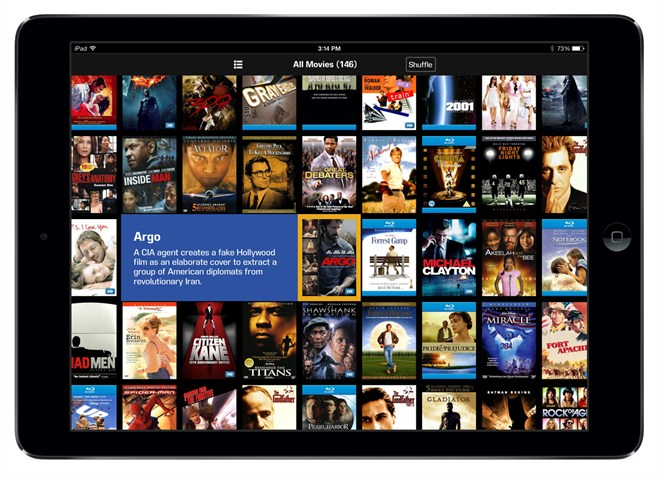 Kaleidescape -App -for -i Pad -Movie -Covers -View