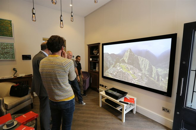 Sim2 Debuts Xtv Ultra Short Throw Projector Inside Ci