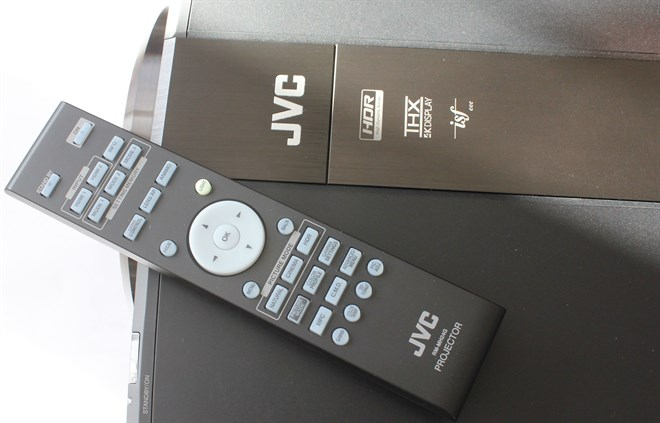 JVC Z1 Logos And Remote Control