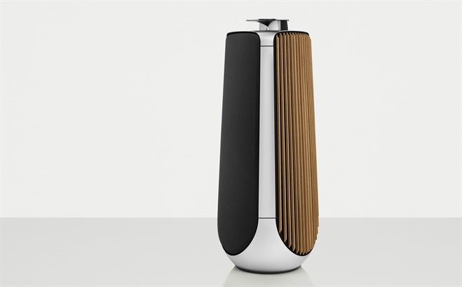 Bang & Olufsen's $40000 speakers feature machined aluminum and oak grates