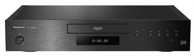 Panasonic UHD Blu -ray Player _UB9000 Front Crop