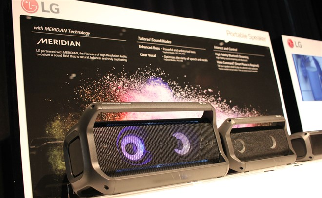 In-depth: LG and Meridian joint audio line launch - Inside CI
