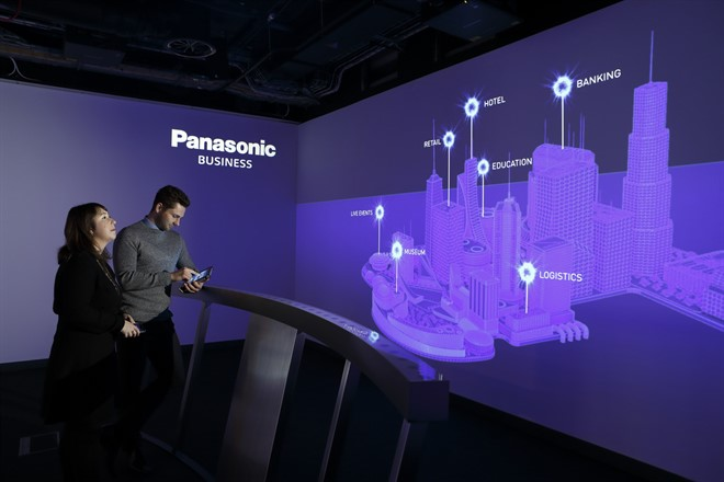 Panasonic Experience Centre - Interactive Presentation Space